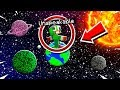 MINECRAFT But the WORLD is a CIRCLE...