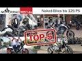Top 5 Naked-Bikes bis 125 PS und max. 10.000 € | Die Favoriten der Redaktion