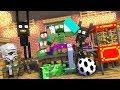 Monster School : FOOTBALL CHALLENGE - Minecraft Animation