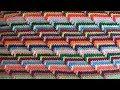 Рельефный 3D узор крючком. Groovyghan. A relief pattern crocheted.
