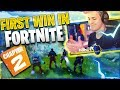 MY FIRST WIN IN FORTNITE CHAPTER 2 (Fortnite: Battle Royale)