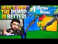 Why I Choose The PUMP Over The Legendary Tac! (Fortnite Battle Royale)