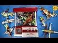 Lego Dinosaur Toys In Claw Machine Hybrid Mutant Dino's Indominus Rex & Trex Kids Family Fun