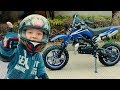Den Unboxing And Test Drive Kids Cross Bike 0+