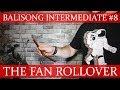 Нож-бабочка. Балисонг трюки - флиппинг средний уровень #8. The Fan Rollover