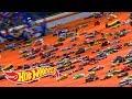 HOW WE SENT 500 CARS DOWN A GIANT RAMP | Hot Wheels Unlimited | Hot Wheels