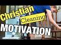 CHRISTIAN CLEAN WITH ME // CHRISTIAN MOM // CHRISTIAN MOTIVATION