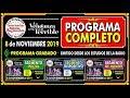 🔴 LA VENGANZA SERA TERRIBLE ► 8 de Noviembre 2019  ✔️ Programa COMPLETO ✔️
