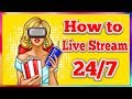 How to Live Stream 24/7 on Youtube | FULL Step by Step GUIDE