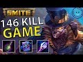 BARON SAMEDI BURST IS INSANE! (SMITE) - 146 KILLS IN A SMITE GAME (New Record?)