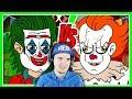 Пеннивайз из Оно vs Джокер (Joker It Хоррор Анимация)   Реакция