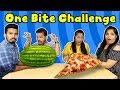 Extreme One Bite Eating Challenge Part - 2 | Big Bite Eating Competition Part -2